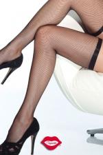 Bas r�sille Slim - Bas r�sille tr�s �l�gants avec leur jarreti�re fine et �lastique qui ceinture vos cuisses.
